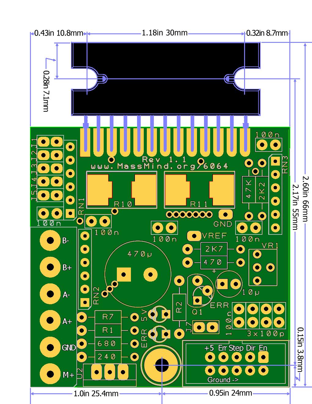 Thb6064 схема драйвера