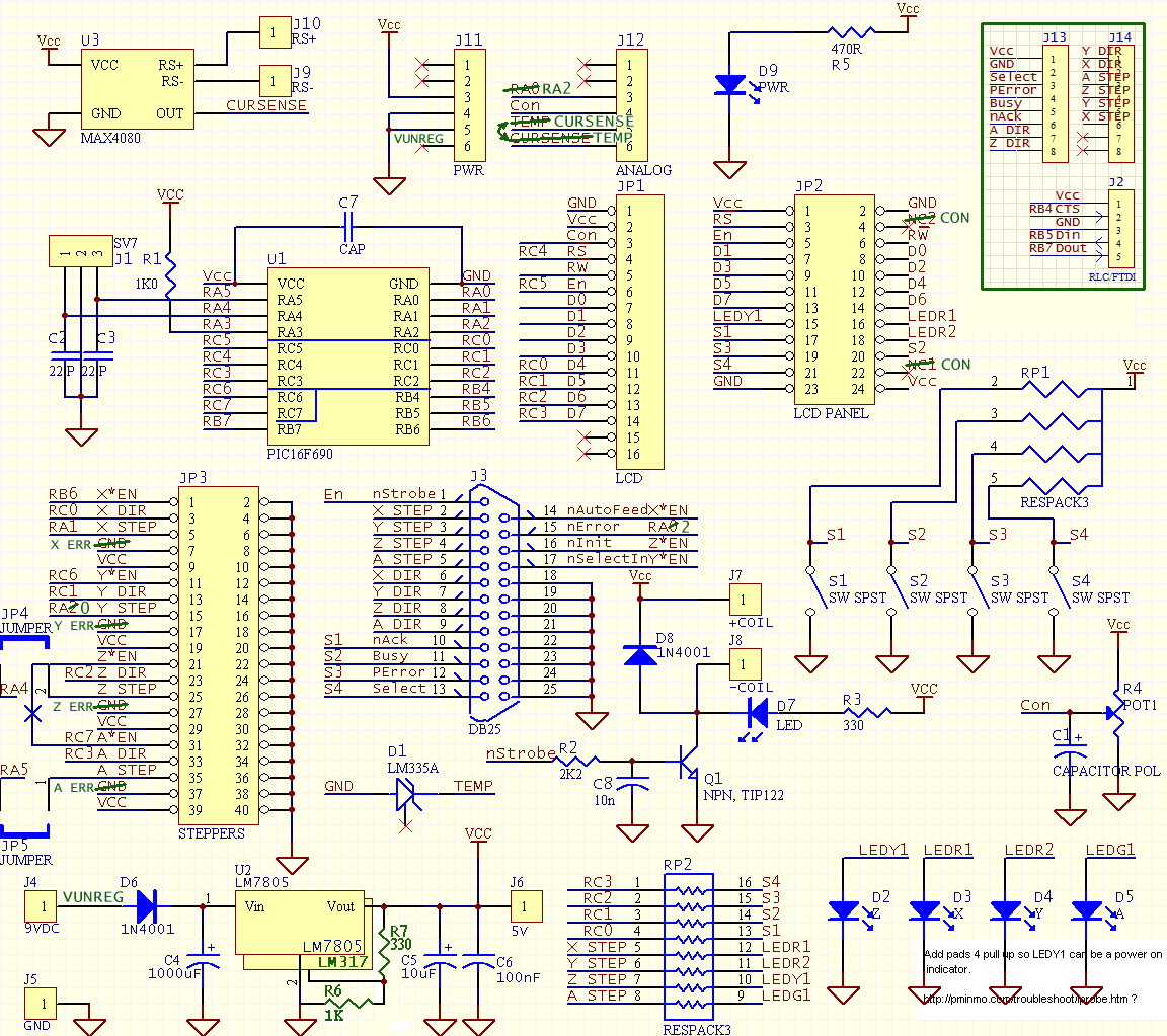 Break Out Board Logic Power Regulator Relay Driver Indicators Click On The Schematic To Open A Larger Version In New Window Or For There Is Also Google Spreadsheet That Shows Combination Of Connections And Helps Clarify Why They