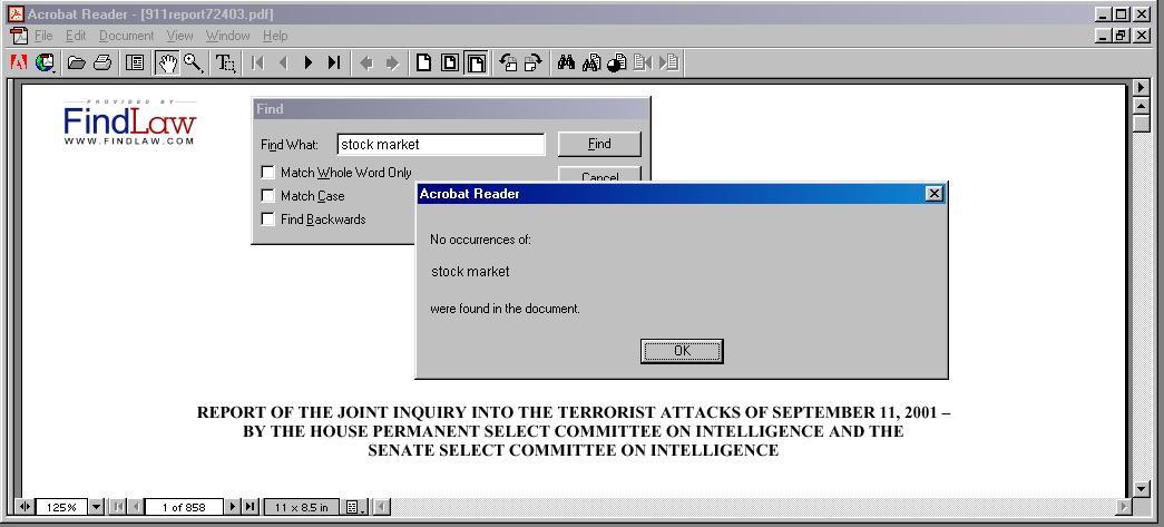 911 insider trading put options