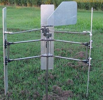 Homemade wind turbine vertical axis