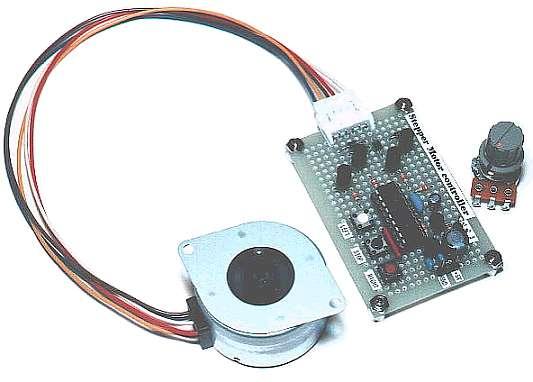 Stepper motor controller for Stepper motor control software